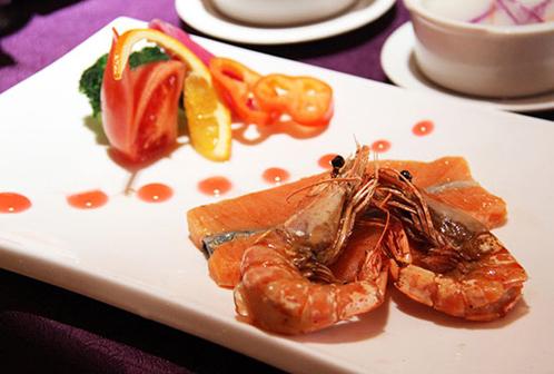 三文鱼明虾