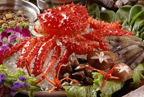 香油阿拉斯加王蟹