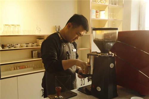 我的咖啡老师Owen Chen